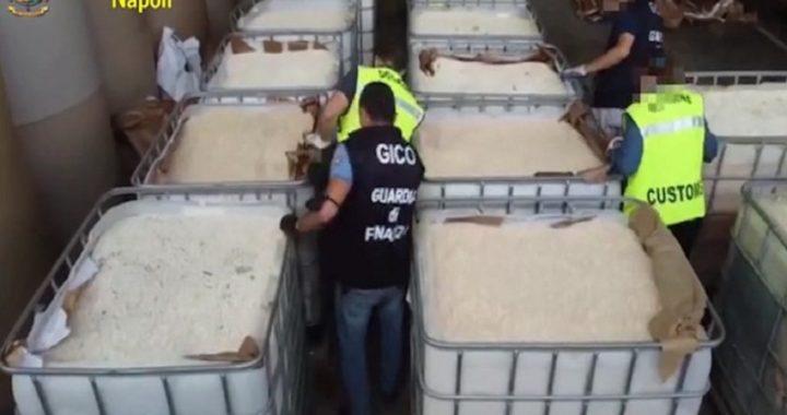 """Droga sequestrata al Porto di Salerno, il sindaco Napoli: """"Grazie alle Forze dell'Ordine"""""""