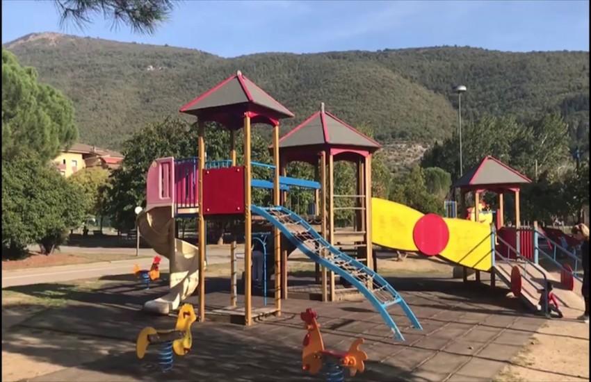 Nel parco Giocagiò educazione stradale per bambini e genitori