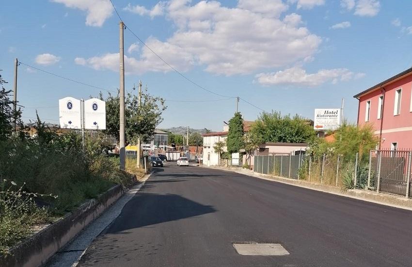 Grottaminarda – Terminati i lavori della variante che collega la SS91 al casello autostradale