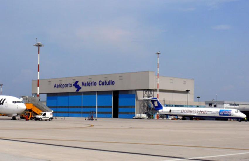 Aeroporto Catullo: crollo del 75% dei passeggeri da giugno ad agosto causa Covid