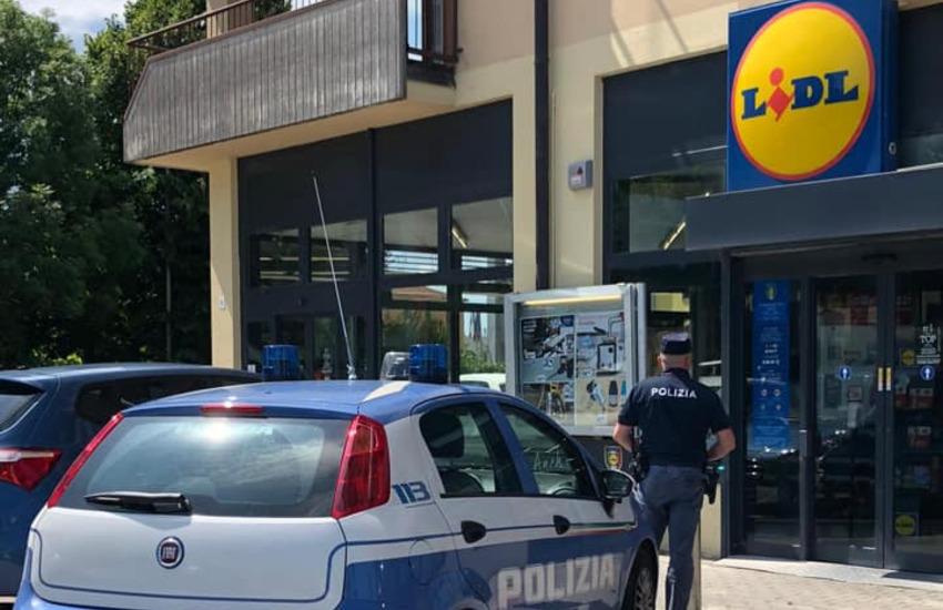 Tentato furto al Lidl di Borgo Roma, un arresto