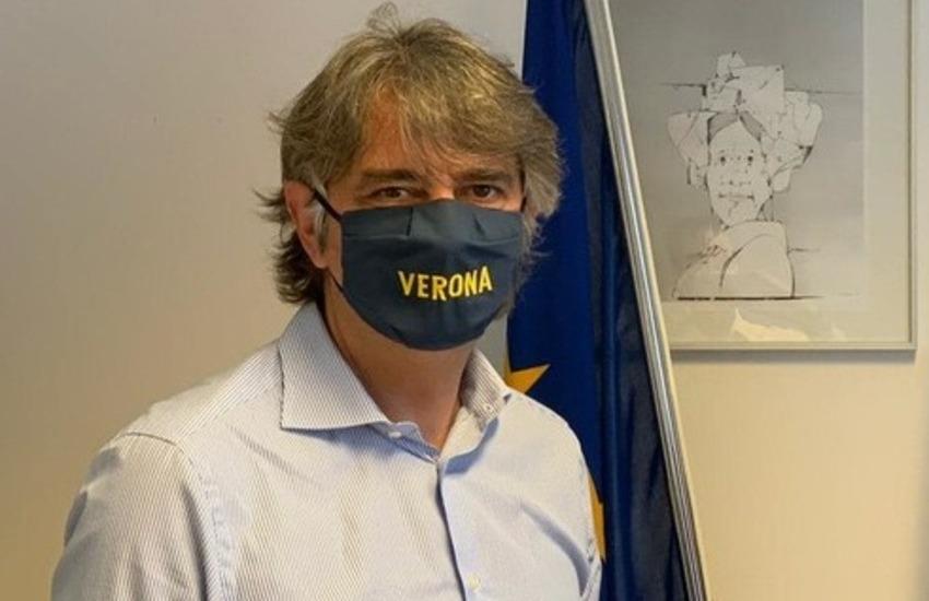 """Sboarina: """"Dpcm poco chiaro e inapplicabile. Non chiudo Piazza Erbe""""."""