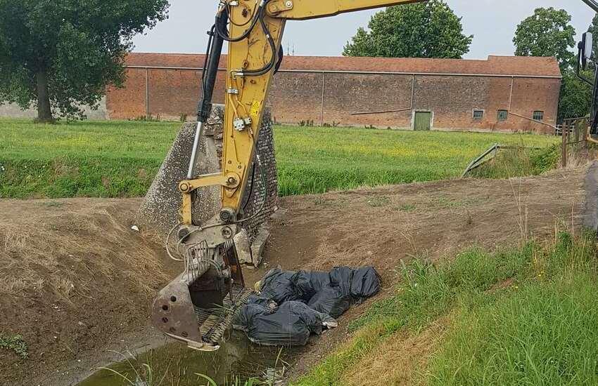 Angiari: rifiuti scaricati nei fossi, multato nord-africano di Roverchiara