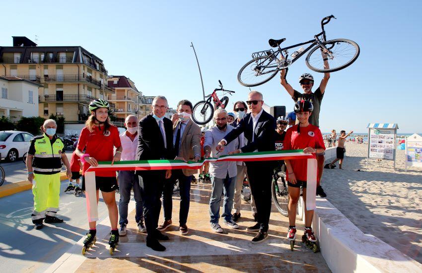 Dal Veneto alla Puglia in bici, Civitanova è pronta (e nelle Marche i km ciclabili sono 200)