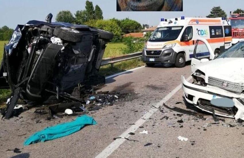 Maserà di Padova, tragedia dopo frontale tra due auto: muore una donna