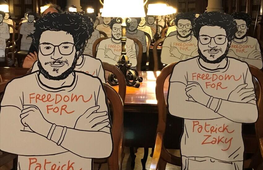 Seduti accanto a Zaky: la nuova iniziativa dell'UNIBO