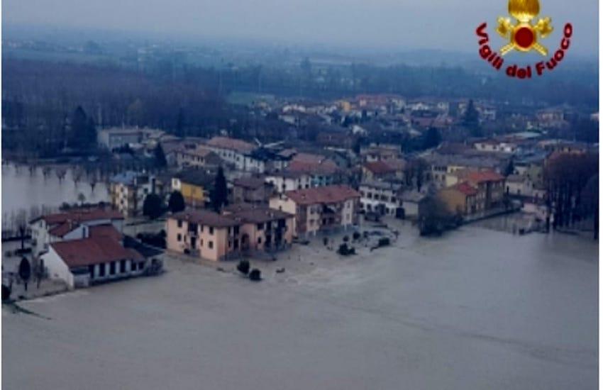 Alluvione dell'Enza: tre funzionari dell'Aipo indagati per disastro colposo