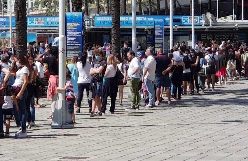 """Acquario di Genova: """"Visitatori dimezzati, ma speriamo in agosto"""""""