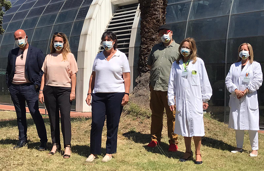 1000 mascherine speciali donate ai bambini del Meyer