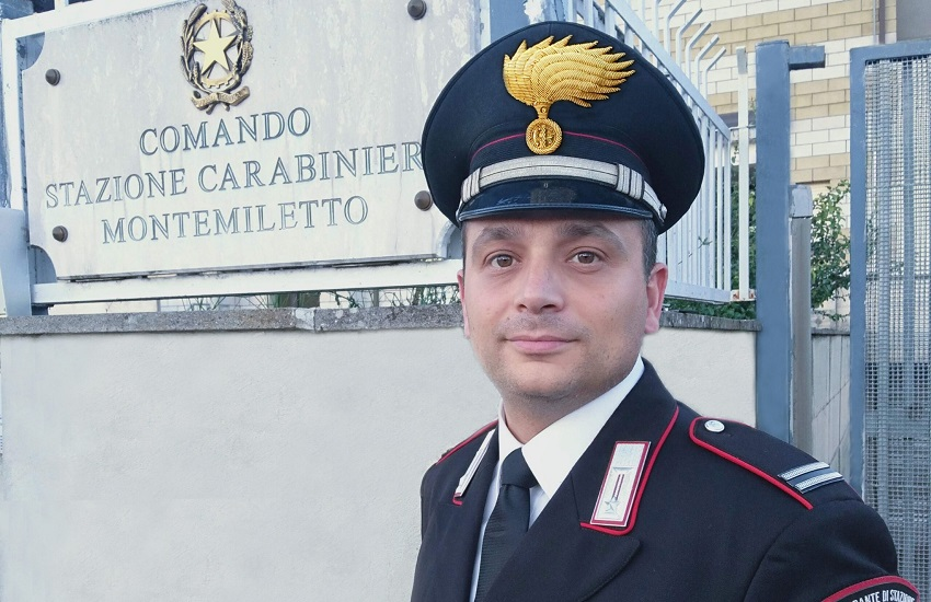 Montemiletto – Elvis Truglia è il nuovo comandante della stazione dei carabinieri
