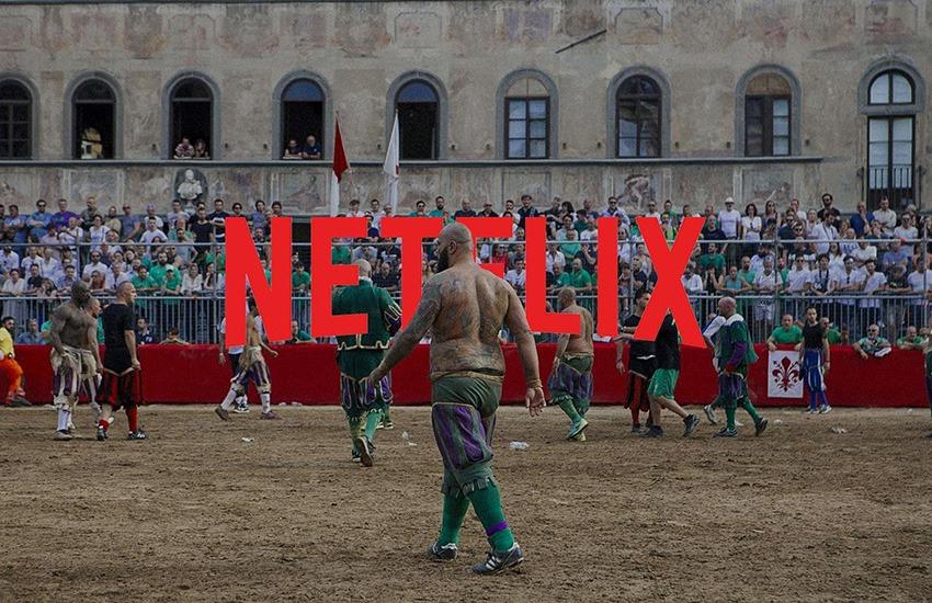 52 milioni di visualizzazioni per il Calcio Storico su Netflix