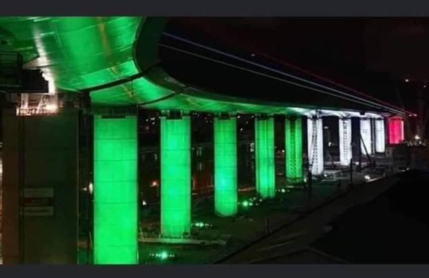 """""""Genova San Giorgio"""": il nome del nuovo ponte. Inaugurazione il 3 agosto"""