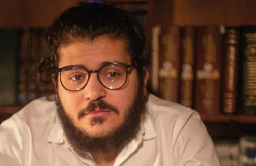 Affisso il ritratto di Patrick Zaki nell'atrio del Rettorato Unibo