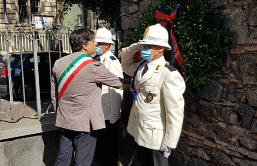 Il sindaco Pogliese ricorda le vittime dei bombardamenti del luglio 1943