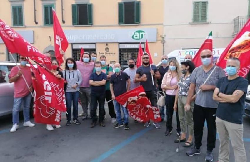 Niente stipendio da aprile, sciopero dei dipendenti Pam