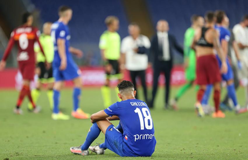 Furia Commisso sui 2 rigori di Roma Fiorentina: «Mi sento preso in giro»