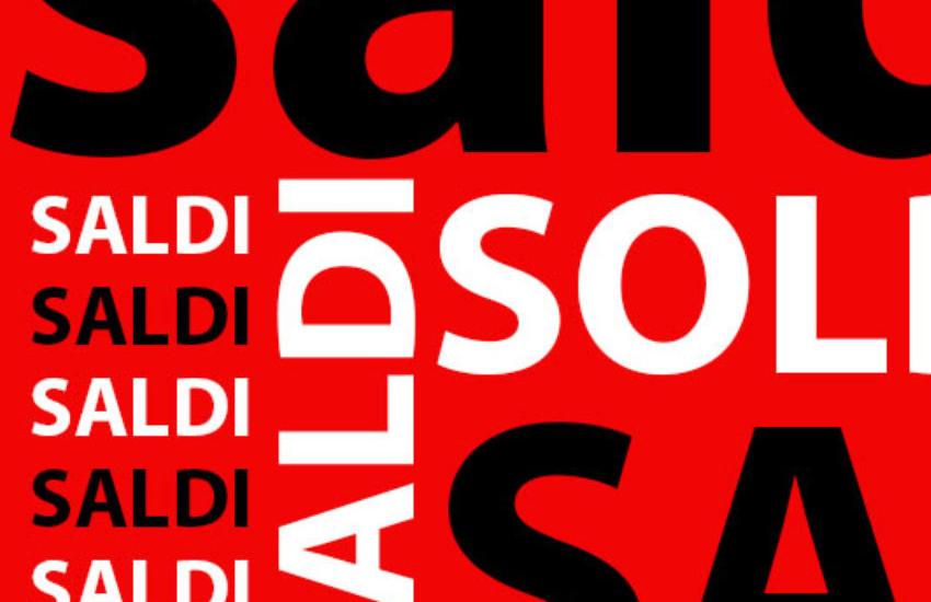 Saldi in vigore da luglio in tutto il Lazio per attivare un maggior volume di consumi