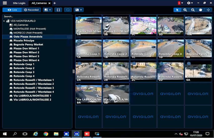 Montemurlo, inaugurato il nuovo sistema di videosorveglianza