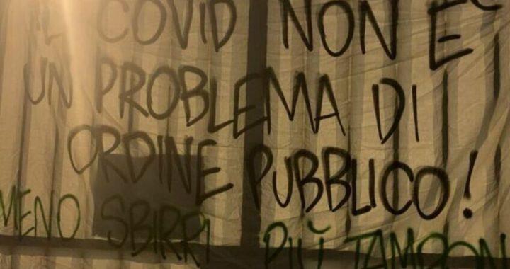Padova, arriva lo striscione contro il proibizionismo comunale anti-Covid 19: nessun sgombero previsto
