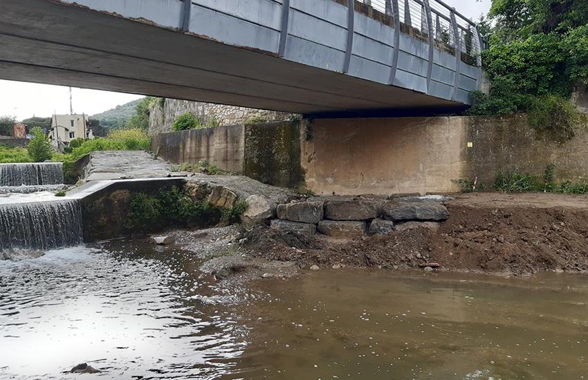 Terzolle a Careggi, fermate 2 importanti erosioni di sponda