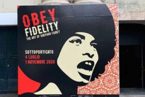 Palazzo Ducale, al via la mostra di Obey fidelity. The art of Shepard Fairey