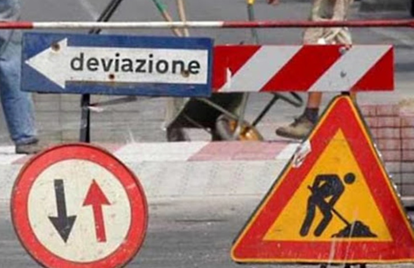 Padova, chiuse al traffico 4 strade per manutenzione e lavori in corso
