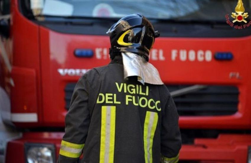 incidente molfetta vigili del fuoco