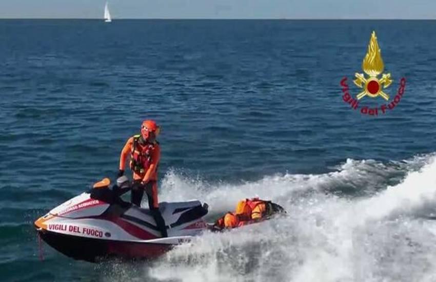 Torna il presidio dei Vigili del Fuoco sulle spiagge di Tarquinia