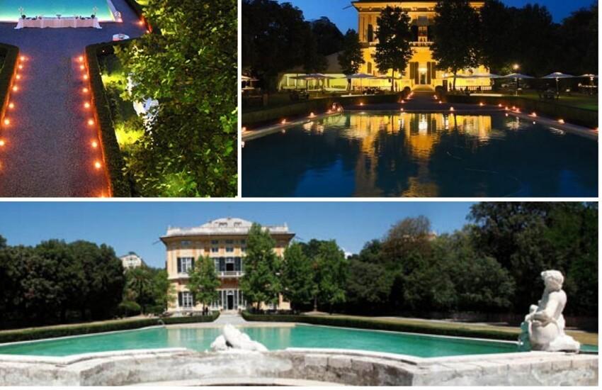 Rotary Club Genova Golfo Paradiso, cerimonia di passaggio consegne tra i presidenti, il 6 luglio, alla Villa dello Zerbino