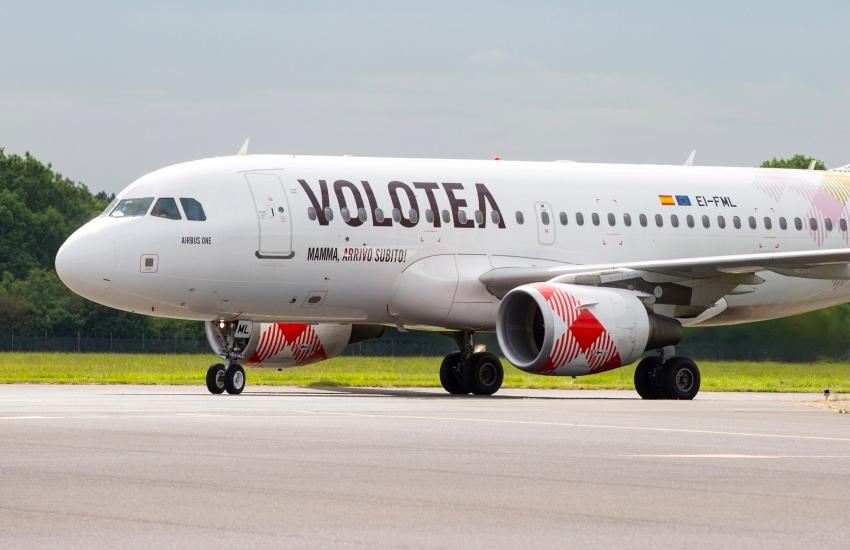 Volotea: a Natale 8 nuove rotte, da Verona si atterrerà a Barcellona