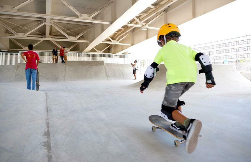 skaters skater palygound ponte adriatico Bari