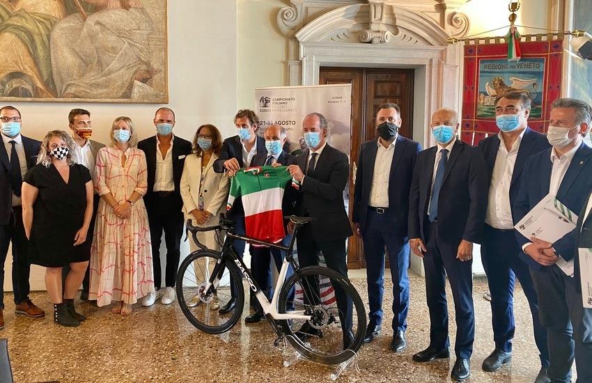 LE CITTA' MURATE VENETE PROTAGONISTE DEL CAMPIONATO ITALIANO DI CICLISMO 2020