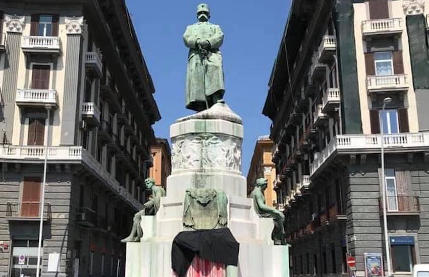 «La cultura è a lutto», drappi neri sui monumenti firmato da «Premio Green Care»