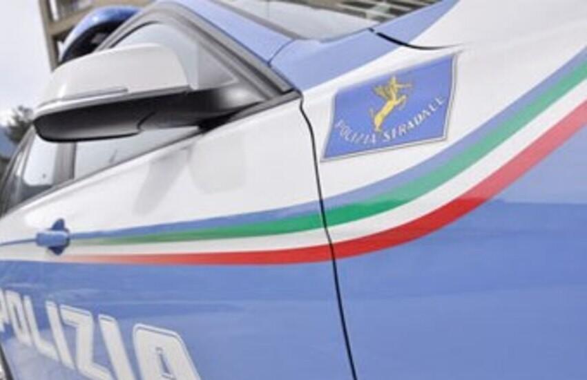 polizia stradale puglia cerignola assalto blindato portavalori
