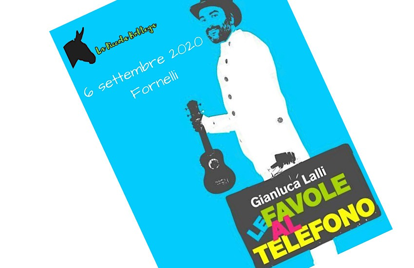 A Fornelli le Favole al telefono, laboratorio di scrittura creativa e musicale