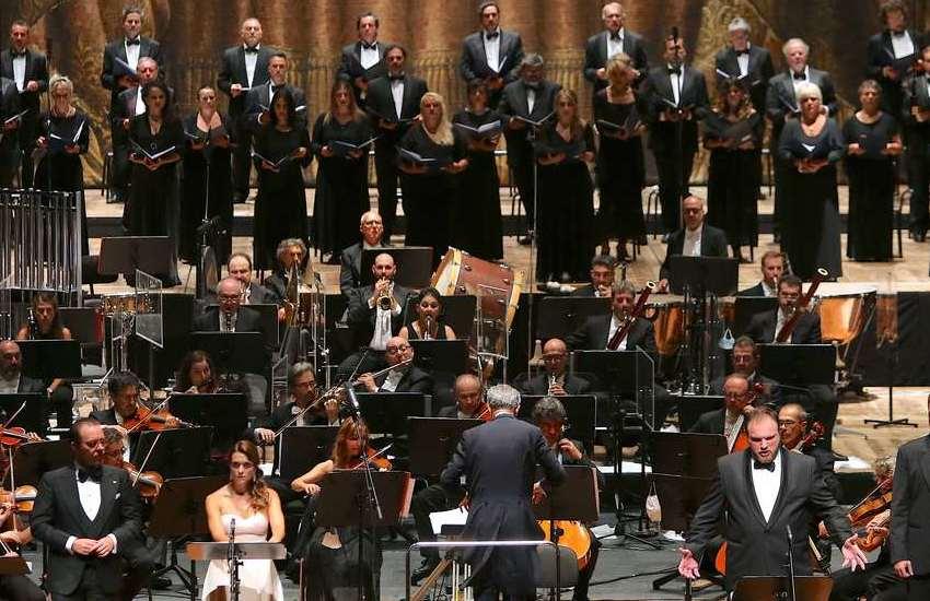 concerto sinfonico Carlo Felice per il Morandi