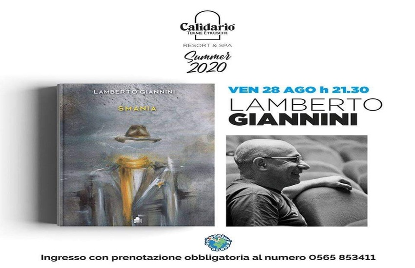 """Lamberto Giannini presenta il suo Libro """"Smania"""""""