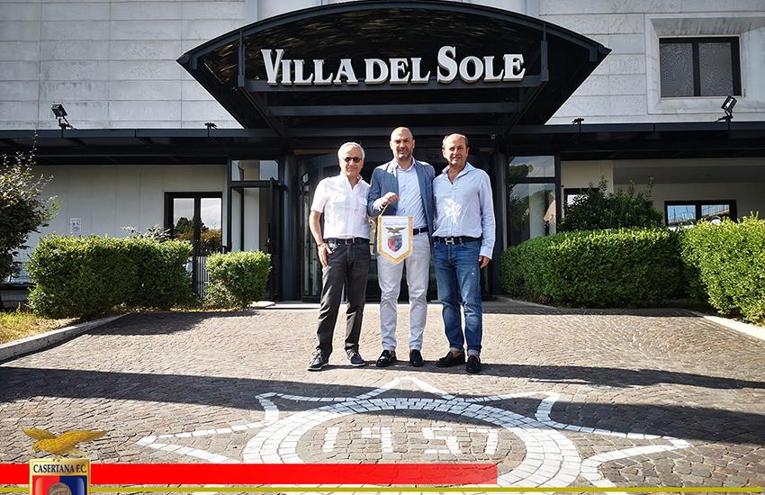 Casertana, nasce la partnership con la Clinica Villa del Sole