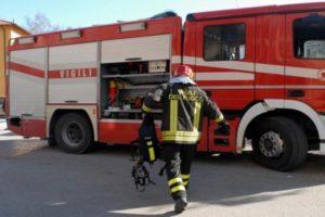 Incendio in zona Mortelliccio: le foto