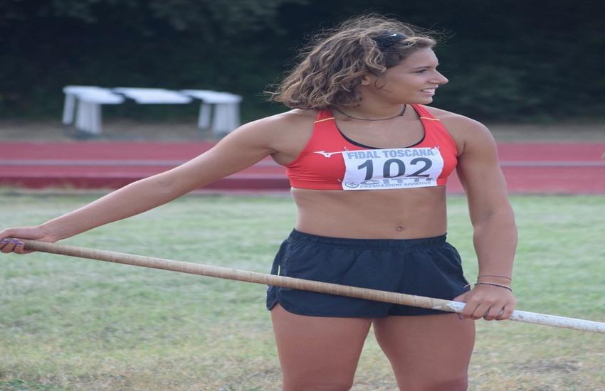 Matilde Poli eguaglia il record regionale U18 di salto con l'asta