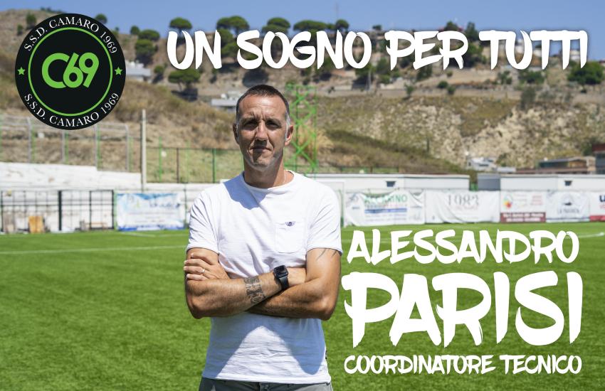 """Messina, nasce la Scuola Calcio Camaro """"We sport"""" gratuita per 100 ragazzi. Sarà coordinata da Alessandro Parisi"""