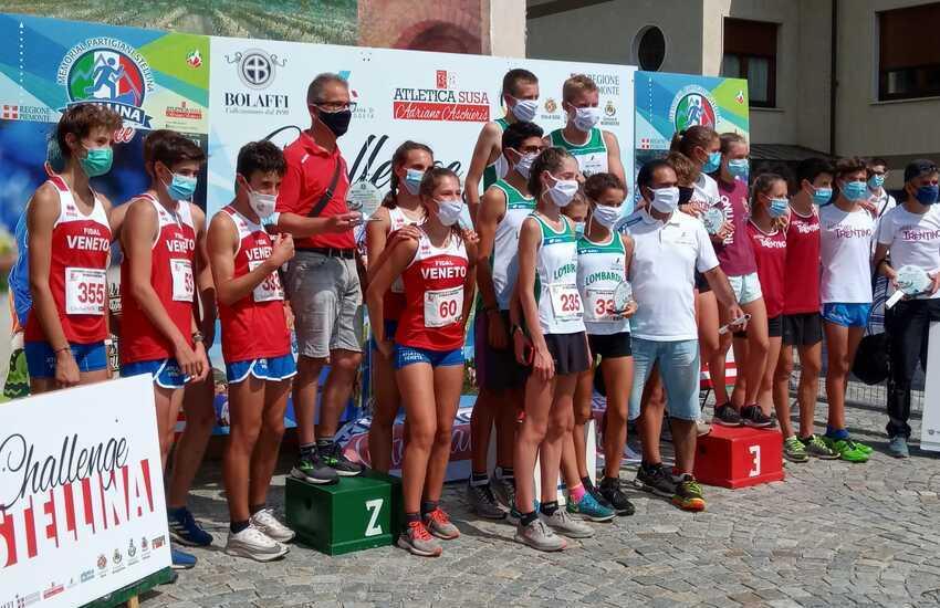 CAMPIONATO ITALIANO  CORSA IN MONTAGNA: AL VENETO 2 ARGENTO