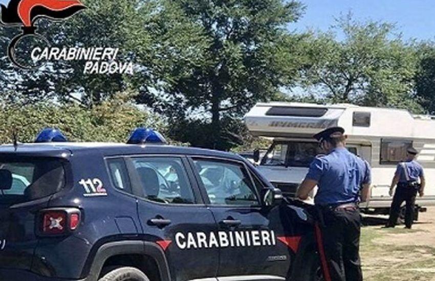 Codevigo, tentato furto nel camper: due arrestati