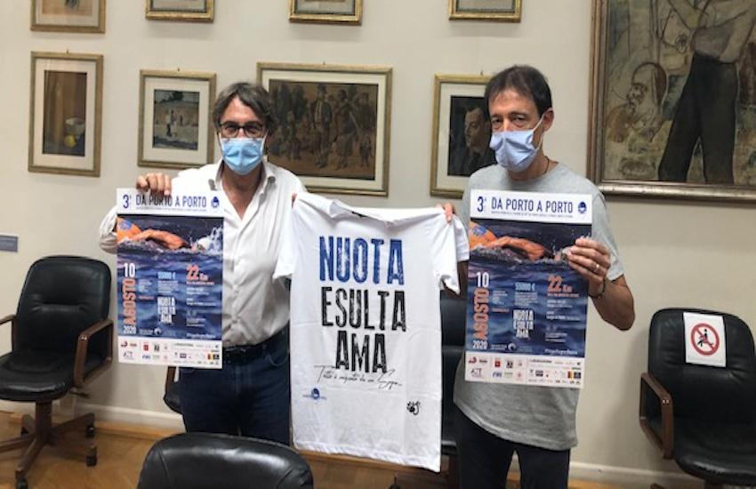 Lunedì 10 agosto nuotata da Porto Ercole a Porto Santo Stefano  per aiutare i malati oncologici