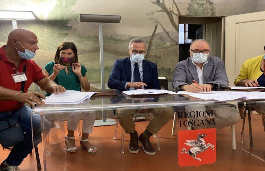 Protocollo tra sindacati e Ausl Toscana Centro per combattere il lavoro nero  e irregolarità