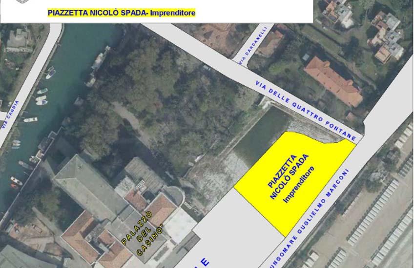 Lido, piazzetta intitolata a Nicolò Spada