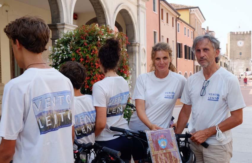 """Mestre, """"Vento Lento"""": conclusa l'avventura in bicicletta"""
