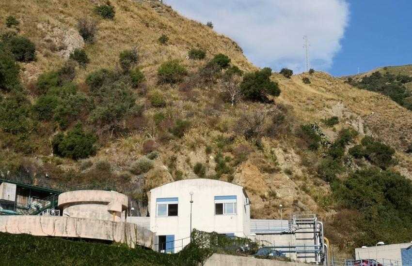 Si mette in sicurezza il depuratore di Letojanni, Taormina, Castelmola e Giardini Naxos