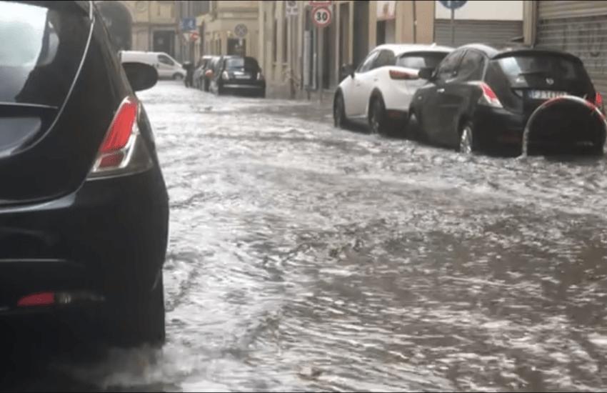 Maltempo, su Torino si scatena un nubifragio e mezza città va in tilt