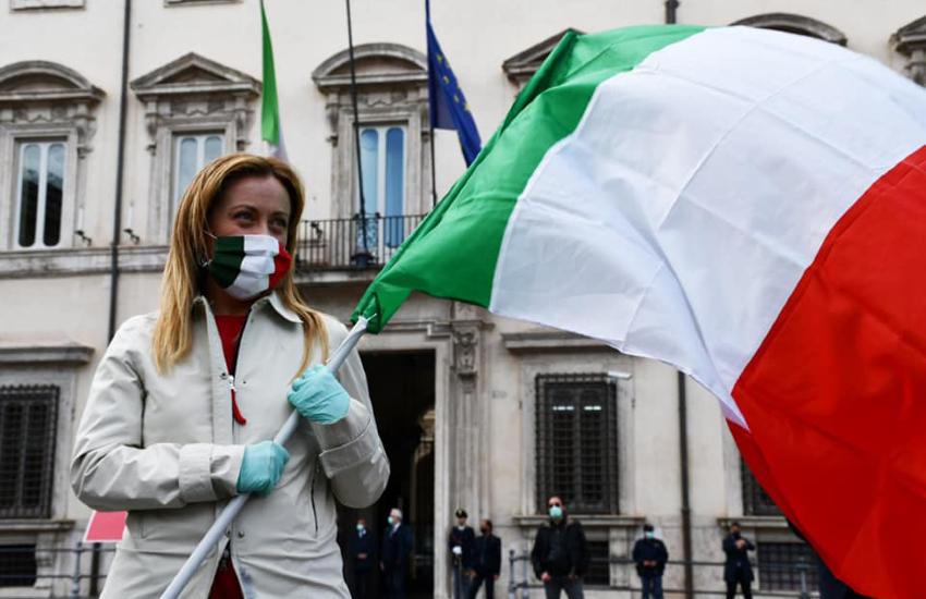 Giorgia Meloni a Fondi e Terracina per sostenere i candidati a sindaco